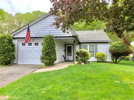 Eik, Lrw/Fp, Dr, Office, Mbr W/Bath, Lots Of Closets, Add'l Bedroom , Full Bath, Prime Location, Cac, Electric Heat, New Back Door, Washer/Dryer Main Level, Alarmed, Amenities Include: Clue House, Craft Rm, Bocci, Bbq Area, Pool, Gym, Rec Rm, Tennis, 1Car Garage, Low Taxes, Move Right In!!
