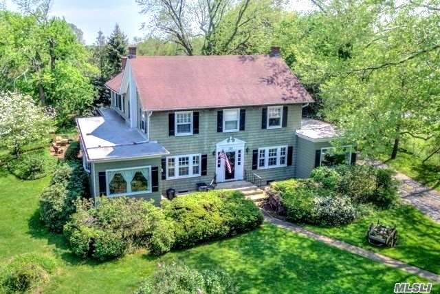 Endless Possibilities For This Spectacular 5.5 Subdividable Acres W/5 Bedroom, 3 Full Bath 3500Sq.Ft. Colonial W/Fruit Orchards! Updates Include: Gourmet Eik W/Cream Glazed Cabs, Farm Sink & Granite Tops, Den W/Vermont Granite Fplc, 2 New Baths, Master Br W/Master Bath, Custom Moldings & Paint, Many Built-Ins, Hardwood Floors, Cvac, Andersen Windows, Newer Roof, Igp W/New Liner, 1 Barn, 2.5 Car Gar, Perfect For Horse Lovers, Bed & Breakfast, Or Builder To Subdivide To 4 Lots! Call For Details!