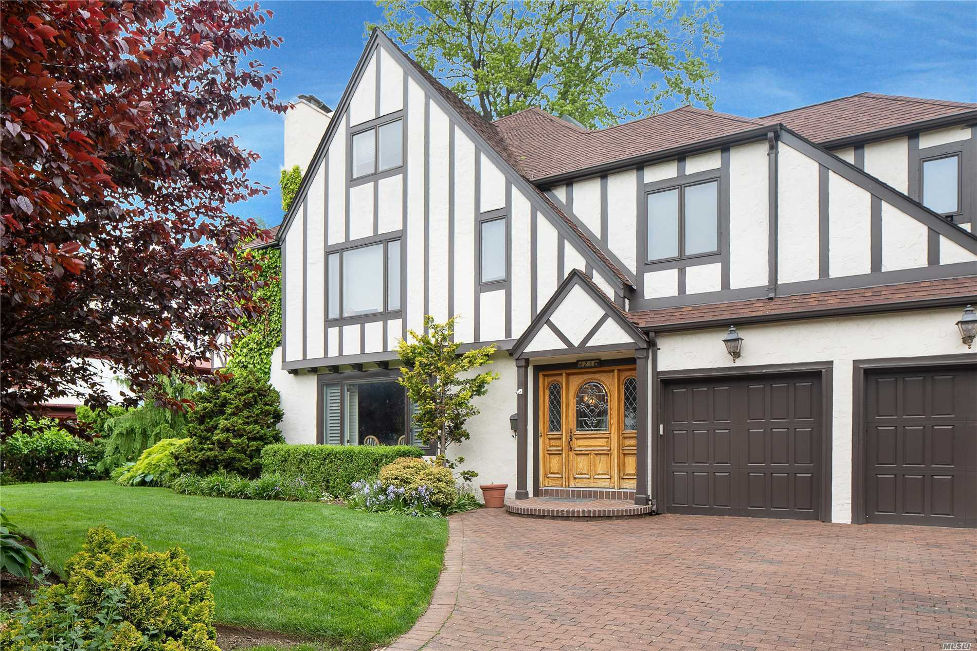 Gracious Tudor Style Home With High Ceilings And Light Filled Rooms. This Home Is Situated On A Quiet Residential Street In The Village Of Kensington With Private Pool And Police, Yet Located A Few Blocks To Playgrounds, Lirr, Shopping And Worship. Meticulously Maintained In Mint Condition With Professionally Landscaped Spectacular Garden. Extremely Low Taxes!