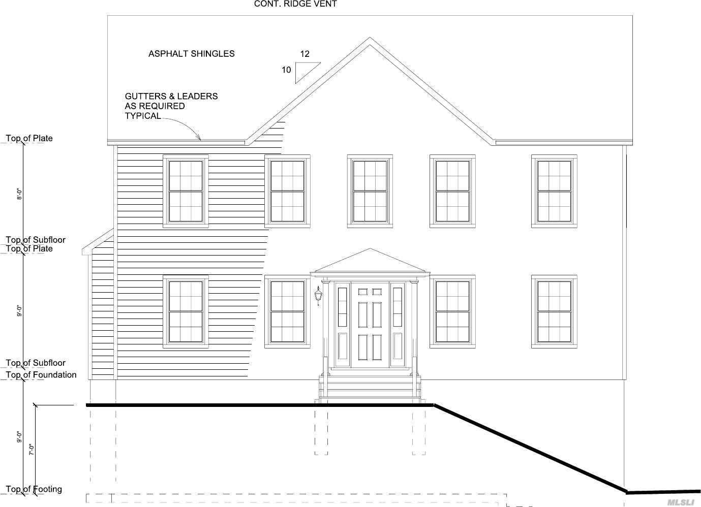 To Be Built. Exquisite 4 Bedroom 2.5 Bath Energy Star Certified New Construction In Sound Beach- Miller Place Schools. 2 Car Garage In Basement. Large Eat-In-Kitchen W/ Center Island & $1000 Credit For Appliances. Gas Fireplace In Den. 60'X80' French Doors Between Lr & Den. Oak Hardwood Floors, 9 Ft Ceilings In Main Floor & Basement. Laundry Room On Top Floor, Master Suite W/ Walk-In-Closet & Full Bathroom. Energy Efficient 2-Zone Natural Gas Heating & Cac. Maintenance Free Exterior.