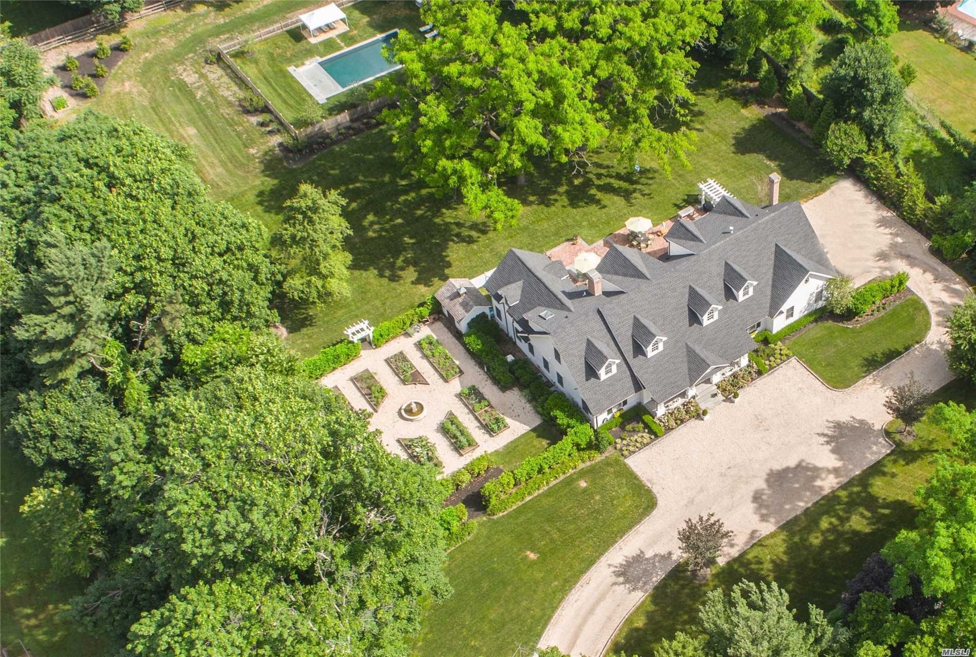 Spectacular Showcase Custom Colonial In Upper Brookville. Designed, Developed And Built In 2013 On 2 Flat Acres. The Property Features A Salt Water Swimming Pool, Expansive Patio, Formal Gardens And Natural Gas. A Covered Front Portico Leads To An Open Floor Plan Layout Inside. Packard Cabinetry In The Kitchen And All Built-Ins Throughout. 5 Bedrooms And 4.5 Baths. A Recent Price Adjustment And Successful Tax Case Now Implemented Make This Beautiful Home A Real Catch And Great Buy!