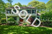 Here's Your Opportunity To Live A Great Lifestyle In Historic Setauket! Gorgeous Center Hall Colonial Located On Cul-De-Sac. Home Offers 4 Bedrms, 2.5 Baths, Wood Floors. Spacious Den W/Gas Fireplace. Playroom In Basement. Entertain On Sunny Deck In Park-Like-Setting. Andersen Windows, Home Security+More! Minutes To Beach, Three Village Schools, University, Ponds, Fence.