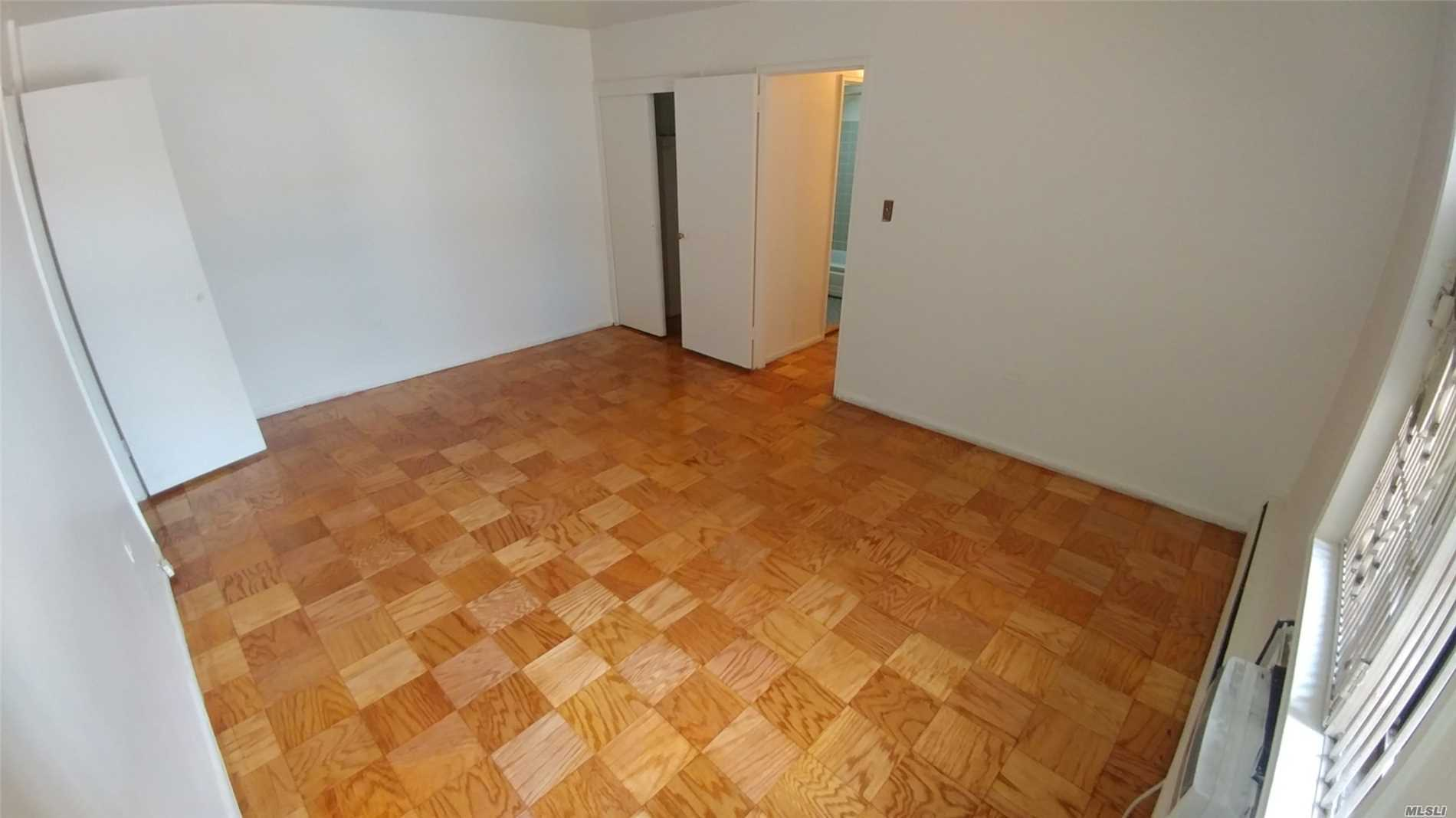 Great Deal On Sherwood Village Xlg 1Br In Very Good Condition. Conveniently Located In The Heart Of Major Shopping District, Just 10 Blocks To M/R, Q72 On Corner. Huge Living Room & Master Br, Spacious Alcove Usable As A Flex Convertible Room, Incredible Closet Space, Deep Eat-In-Kitchen. Newly Painted, Polished Floors. Tremendous Upside Opportunity. Electricity And All Utilities Included In $714 Monthly Maintenance. 100% Owner Occupied.