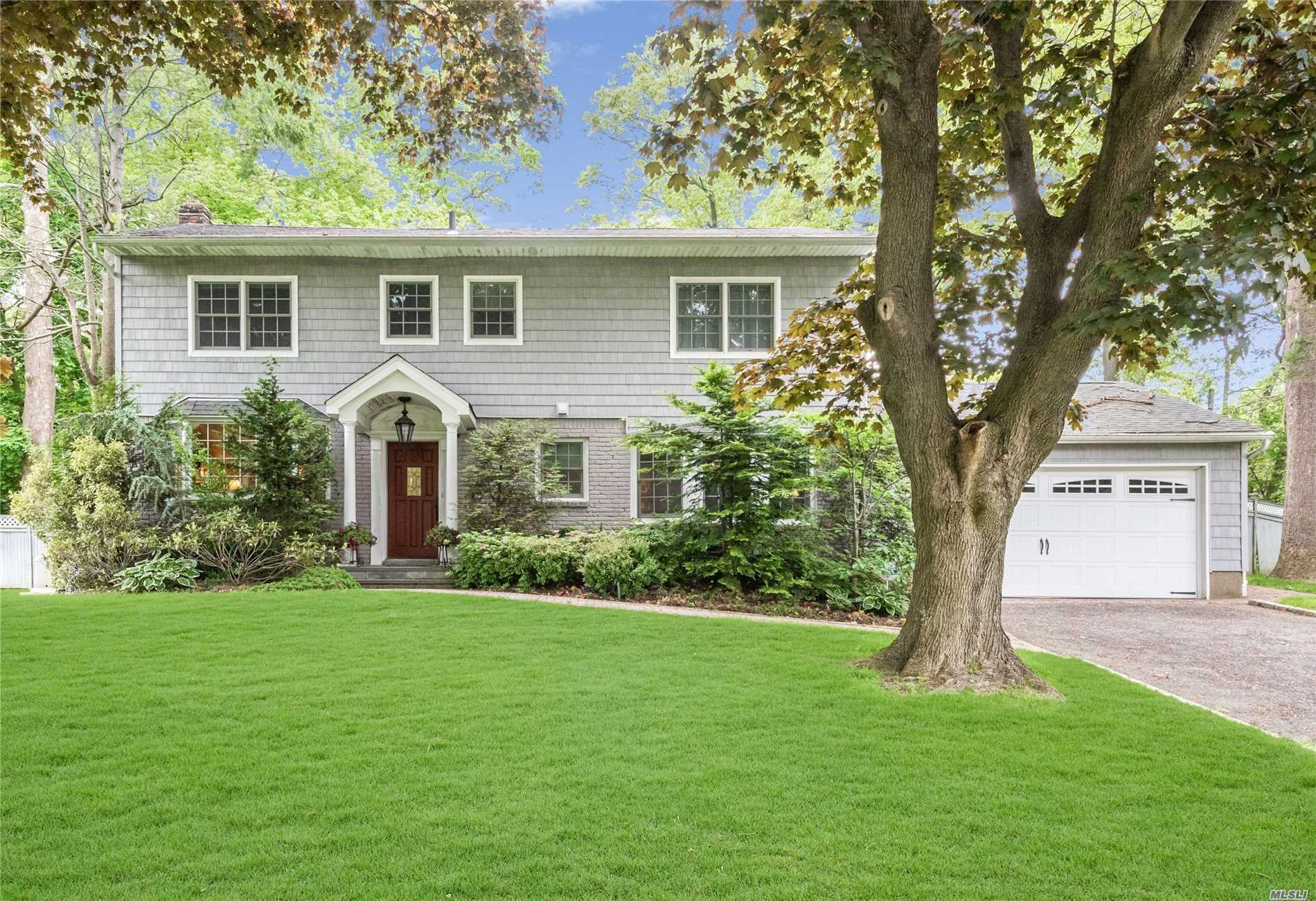 Totally Renovated Center Hall Colonial In The Desirable Roxbury Section. Chef's Kitchen, Spacious Family Room Addition W/Fp And Sliding Glass Doors To An Expansive Backyard Patio & Inground Pool W/Hot Tub. Formal Lr W/Fp, Fdr, W 2 Powder Rms & Laundry Complete 1st Floor. Master Suite W/Large Walk In Closet. Additional 2 Brs & Bth, 2 Car Garage, Cac, Cvac, Generator, Inground Sprinklers.A Perfect Home.