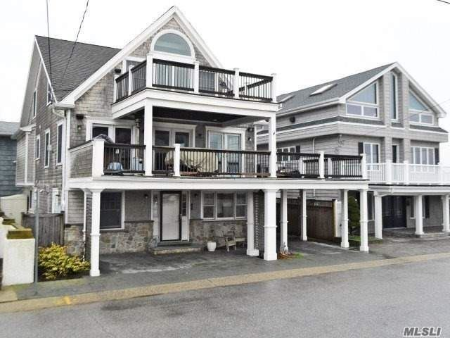 Gorgeous Updated 4 Bedroom, 2 Full Bath, Beach Side Home In East Atlantic Beach! Completely Furnished Luxury Home With Multiple Ocean View Decks And Entertainment Area, Outdoor Kitchen And Driveway Parking. Dead End Street. Small Dog With Extra Security. Includes Private Beach Passes, Movie/Craft Nights And Beach Parties! Let The Waves Rock You To Sleep!