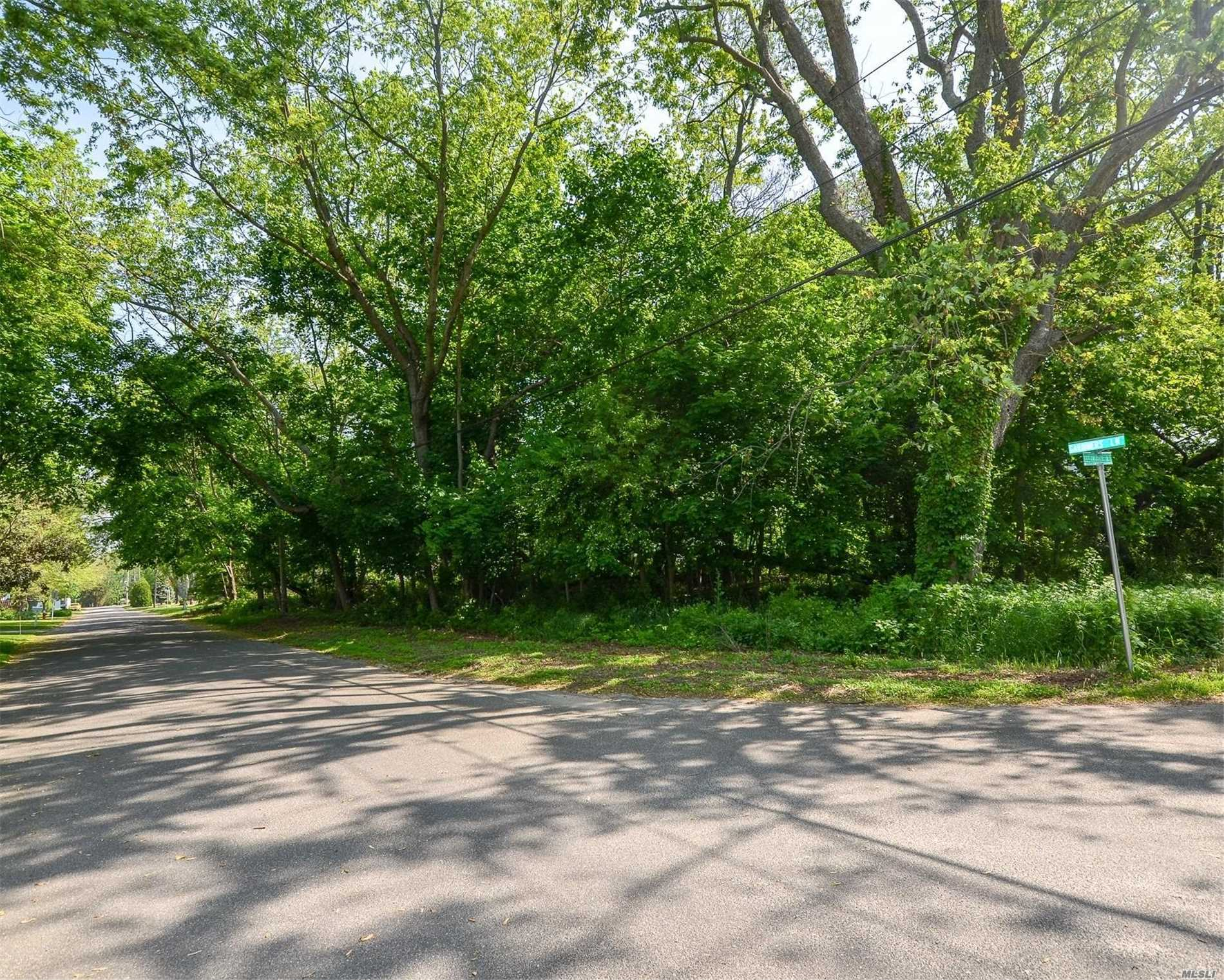 Build Your Dream Home! Wooded Lot Set In Beautiful Neighborhood In Southold, Close To Village, Beaches, Boating And All The Hamlet Has To Offer.