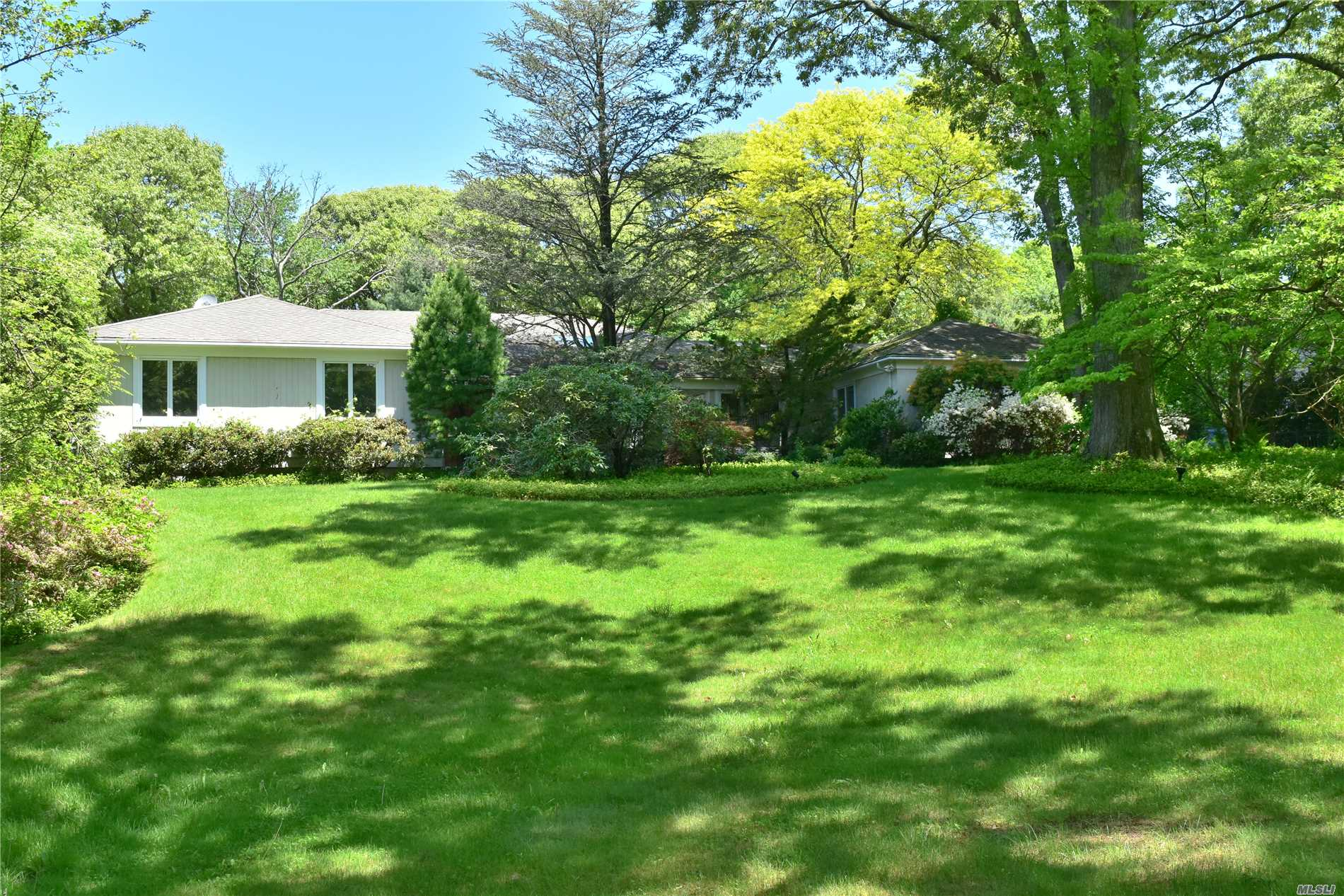 Tremendous Expanded Ranch In Perfect Location!! Set On Picturesque Professionally Landscaped Grounds W/ In-Ground Pool & Waterfall! Tons Of Possibilities! Subject To Third Party Approval!