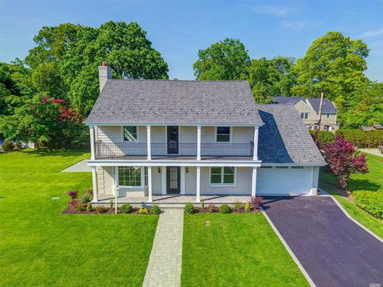 On This Amazing Property (Just Shy Of A Double Lot) Sits A Stunning Remodel Of A Classic Beauty Featuring Today's Amenities: Open Concept Floor Plan,  Chefs Kitchen/Great Room W Fp, Lr W/ Fp, Fdr, Master Ensuite, 2nd Ensuite, Add'l 2 Large Bedrms W/ New Pristine Baths, Att Garage, Mudroom & Fin Basement. Some Photos Virtually Staged.