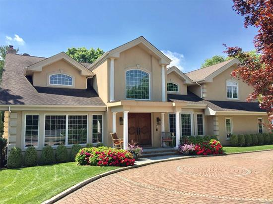 *See Zillow For Add'l Details* Dramatic 5 Br/4.5 Bath Colonial Home W Entry & Soaring Ceilings, 6 Wood Plank Floors, Crown Mldgs, Custom Millwork, Wood Panel Great Room W Gas Fireplace, Gourmet Chef's Eik, Country Club Oasis Backyard W/In-Ground Pool & Waterfall, Pergola W/ Built In Bbq/Kitchen, Deck. Master Suite W/Gas Fireplace & Wic, Stunning Master Bath Full, Finished Basement In Acclaimed Syosset Sd. Smart House Hi Tech Sec. System. Berry Hill Elementary School.