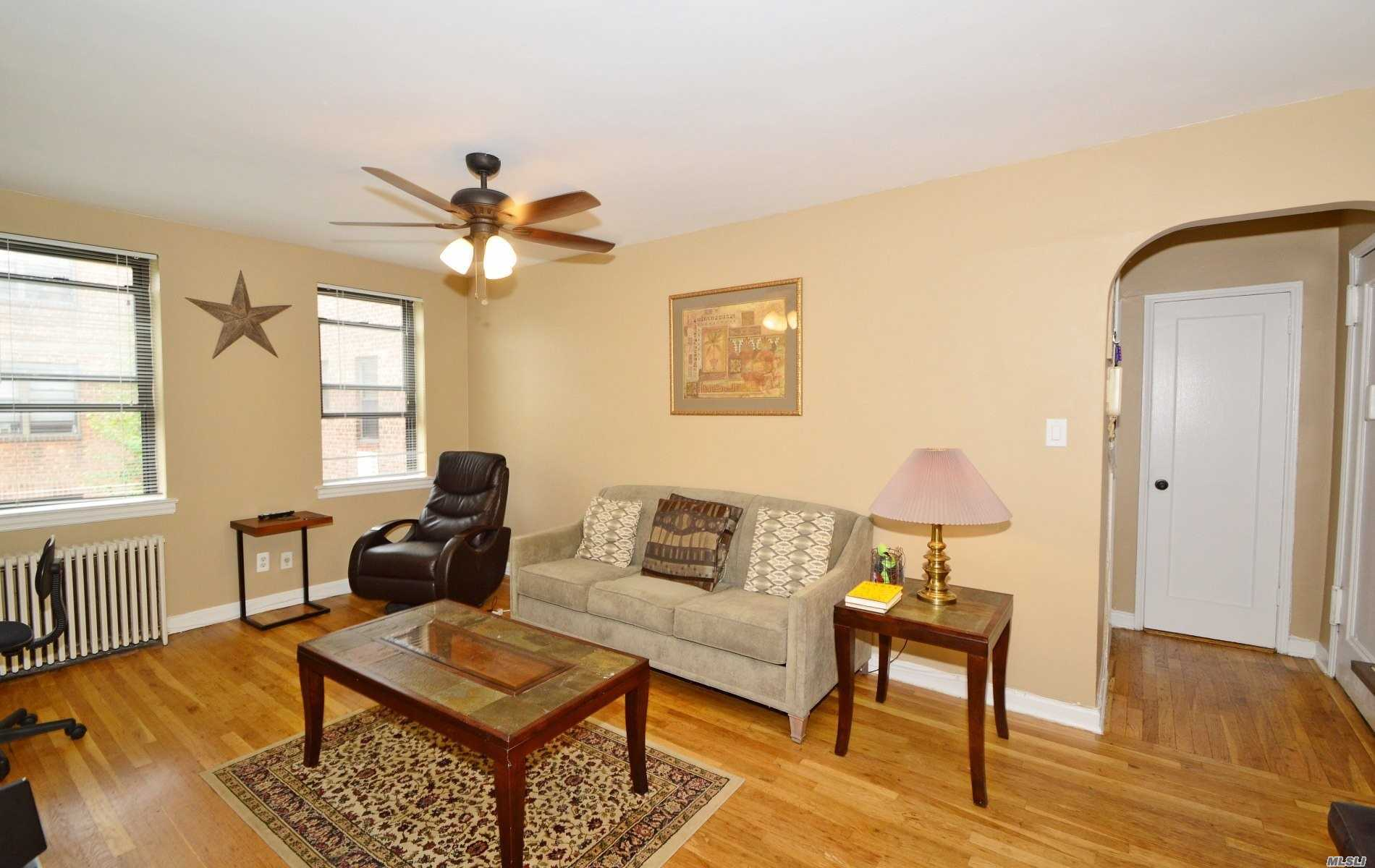 Spacious And Sun Filled One Bedroom; Located In Quiet Court Yard Setting. Close Proximity To Bustling Bell Blvd. Walk To Lirr, Close Proximity To Q27, Q12 & 13. Convenience And Affordability Make This A Must See!