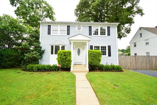 Colonial In Diamond Conditions, Corner Property W/Legal Acc. Apt. Offering Main Floor: Livrm, Eik With Granite Counter Tops, Ss Appliances, Dinner Area, 2 Bedrms, Full Bath, H/W Floors, Full Finished Basement, Recreation Rm, Laundry Rm, W/D, Storage Rm, Egress Window, Boiler Rm. Double Car Garage. Second Floor Acc. Apt. Livrm, Eik With Granite Tops, Ss Appliances, 2 Bedrms, Full Bath, H/W Floors. Great For Investors, Extended Family Or First Time Home Buyers With Rental Income.