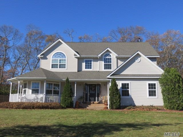 4 Bedroom, 2.5 Bath Colonial Built In 2006 With Almost A Half Acre. Located On A Quiet Dead End Road And A Very Close Drive To Most Shopping And The Train Station.