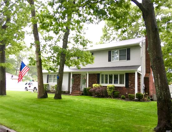 Beautifully Updated Four Bedroom Colonial With Oak Floors, Wainscoting, Custom Moldings! Living Room W/ Gas Fireplace! Family Room W/ Entry That Leads To A Beautiful Professionally Landscaped Fenced Backyard W/ Patio Pavers, Heated Inground Pool, Vegetable Garden & A Fish Pond! Igs System, Security System, Tankless Water Heater! Home Is In Mint Condition & Move In Ready! Conveniently Located To Public Transportation, Shopping, And Major Highways!