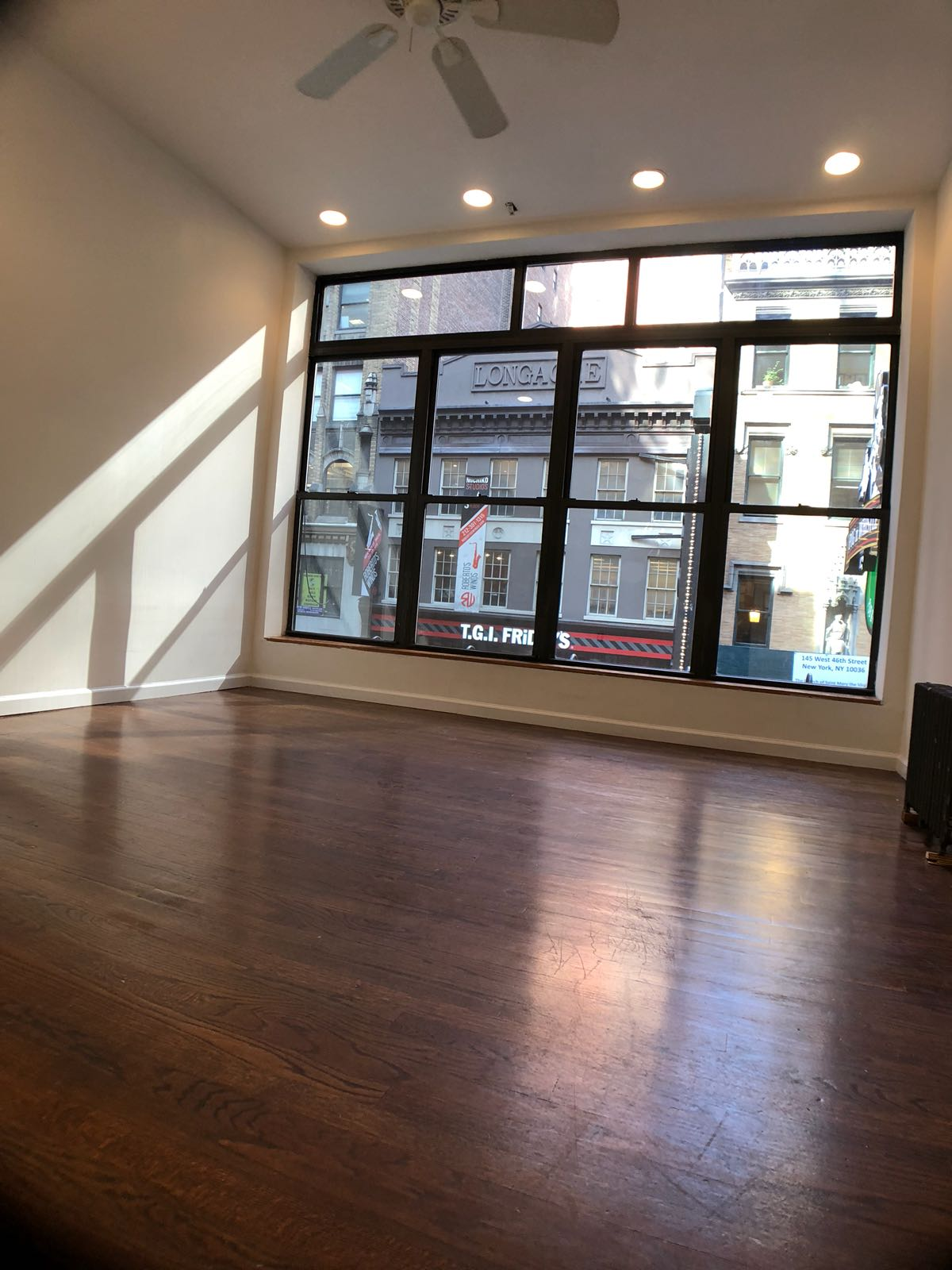 NEWLY BUILT OUT SECOND FLOOR RETAIL SPACE  *NO BROKER FEE*   RENT:  $4,200/month   SIZE:  600 SF  LOCATION:  46th Street between 6th & 7th Avenue  COMMENTS: - Newly Built with Hardwood Floors and White Walls - Brand New Bathroom - Full Kitchen in Place  PERFECT FOR: - Hair Salon - Nail Salon - Massage  - Spa - Acupuncture  - General Office Use - Tech Company - Start-Up Companies - Financial Office - Accounting Firm - Law Firm  *ALL USES CONSIDERED*  CONTACT:  Aaron Aziz (516) 355-8018  Access to all commercial spaces in any of the 5 Boroughs. Feel free to contact me with your requirements or any questions you may have.