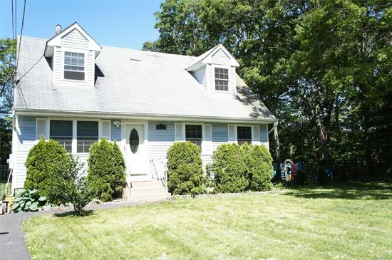 Cape Featuring 4 Bedrooms, 2 Full Baths, Large Eat In Kitchen, Living Room And Full Basement W/Washer/Dryer Hookup. Brand New Burner With Lifetime Warranty And New Pump For Well Water. Larger Property On Almost An Acre W/Semi Inground Pool. Enjoy Quiet And Park Like Settings From Your Own Backyard.