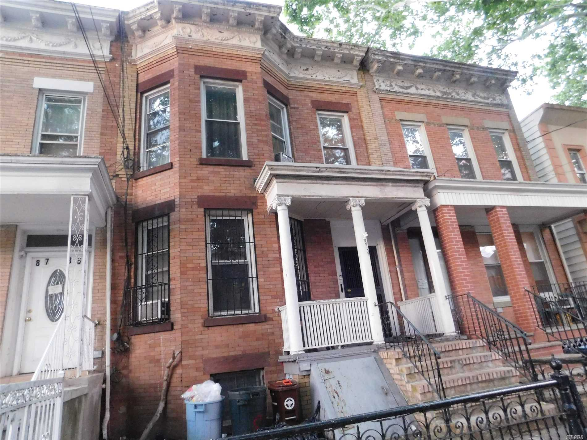 Beautiful 2 Family Home In The Heart Of Woodhaven. This Home Features 6 Bedrooms, 3 Full Bath. 3 Min Walk To Jamaica Ave J Train, 40 Min To Down Town Manhattan, Close To All, Must See................