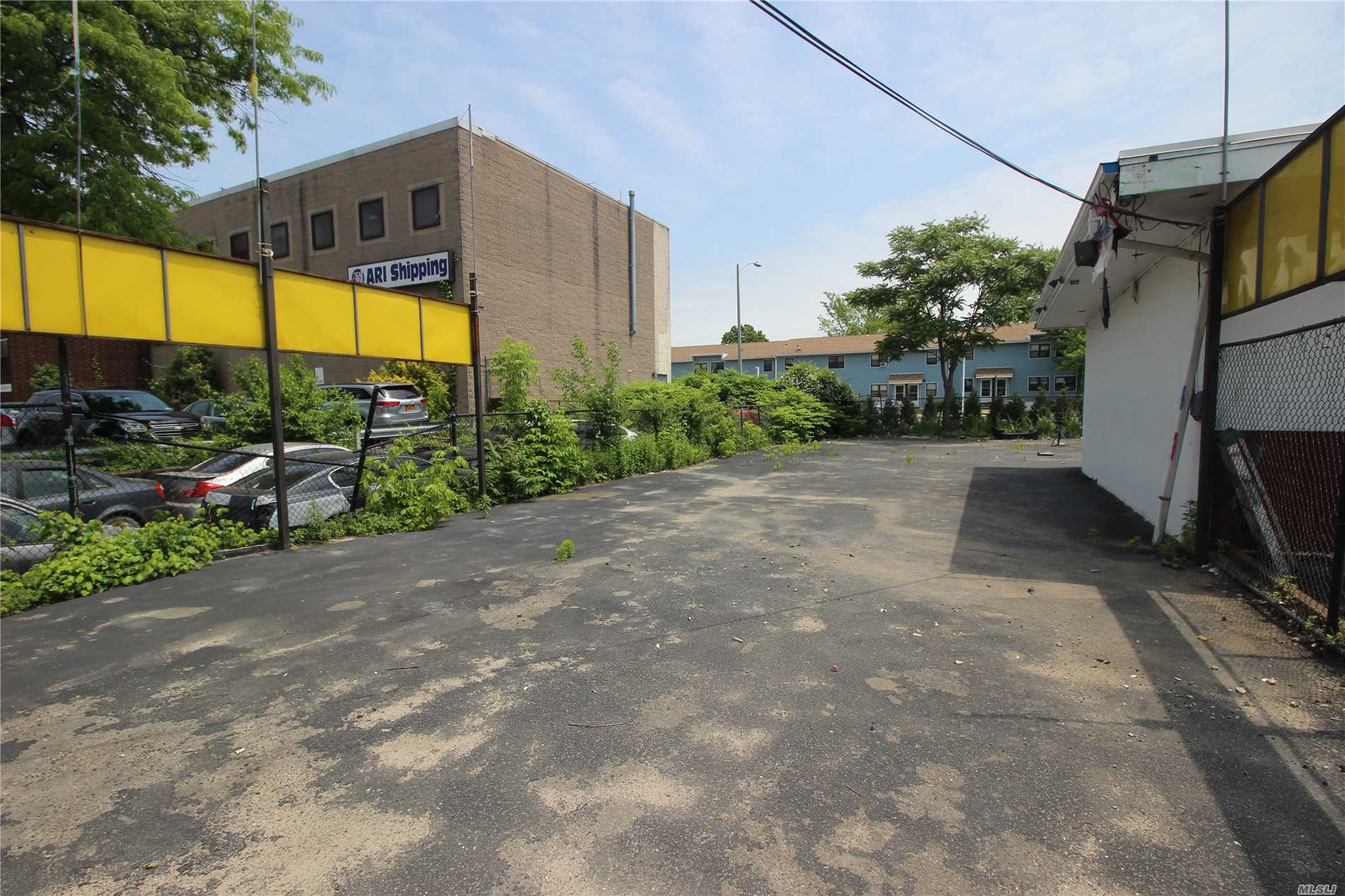Used Car Lot With Adjoining Building For Lease. Building Can Be Used For Car Display, Service Bay, Or Get Ready, And Also Has Spacious Office. Exterior Display Up To 20 Cars. Lot Is Paved, Fenced, And Illuminated. Located On Main Boulevard With Heavy Traffic On The Queens/Nassau Border, Close To Jfk Airport. $2, 995 Per Month, Includes Base Year Taxes.