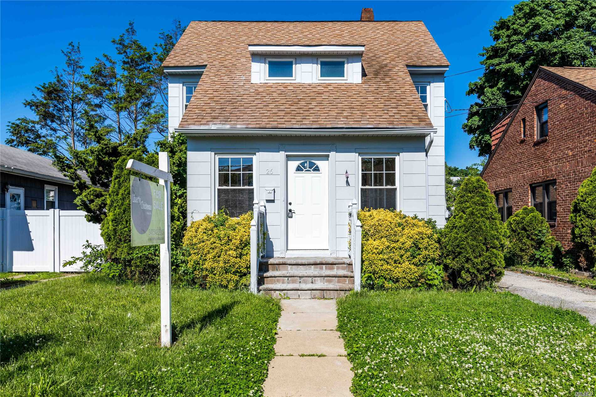 Great Opportunity To Own This Renovated 2 Story Colonial In Picturesque West Hempstead, New York. This Home Offers 1182 Sqft With A Brand New Kitchen And Bathroom. Complete With A Finished Basement With An Additional 500Sqft Of Living Space, Detached 1 Car Garage And A Relaxing Back Patio Area Just Waiting For Your Personal Touches!