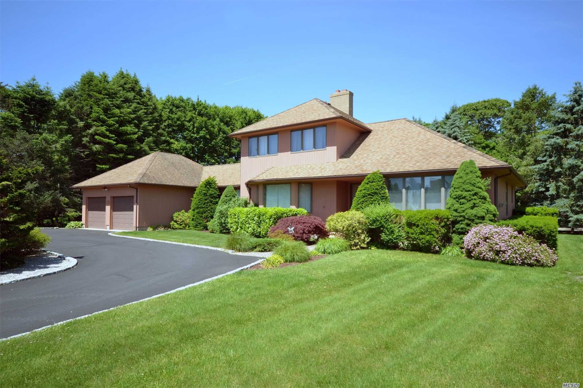 Elegant Contemporary In Sea Cove Estates. Spacious Custom Home With Open Floor Plan. Vaulted Ceilings, Hardwood Floors,  Fireplace, Fabulous Screened In Porch & In Ground Pool. Seacove Bay Beach. Celebrate The Beauty Of The North Fork Here With Friends And Family. Enjoy The White Sandy Beach And The Osprey.