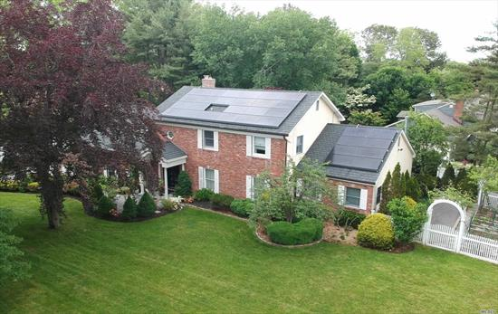 Enjoy Entertaining In This Large 5 Bedrm Colonial . Huge Rooms, Wood Floors Throughout, Many Updates Which Include New Roof New Heating System , Mature And Beautiful Landscaped Property, Private Yard With Pavers And Inground Gunite Pool. All In Half Hollows School And Strathmore Pool & Tennis Club.
