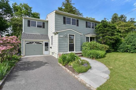 Beautifully Well Maintained Colonial On A Park Like Property. This Home Features 4 Bedrooms & 2 Full Baths. Relax In The Large Living Room, Formal Dining Room, Extended Den With Wood Fireplace That Overlooks Your Tranquil And Private Yard. Kitchen Has Gas Cooking And Stainless Steel Appliances. Rear Screened Porch 1.5 Garage & Full Basement.
