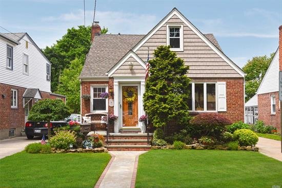 Incredibly Charming Brick Home That Is Loaded W/ Recent Updates In Lynbrook Sd#20! This Immaculately Kept Home Boasts An Updated Kitchen W/Granite Ctrps/Ss Appls, Updated Baths, 3 Bedrooms+Den/Office, New Gas Air Handler, 1-Layer Roof (4 Yrs Old), New 200 Amp Elect, Large Trek Deck Overlooking Serene Pvc Fence- In Yard W/ Lrg Shed & Beautiful Landscaping, Full Finished Basement W/ Bar & Strg & A Huge 2nd Flr Bdr W/ Lots Of Closets...Wow! Taxes Grieved & Should Go Down Next Yr. Close To Lirr.