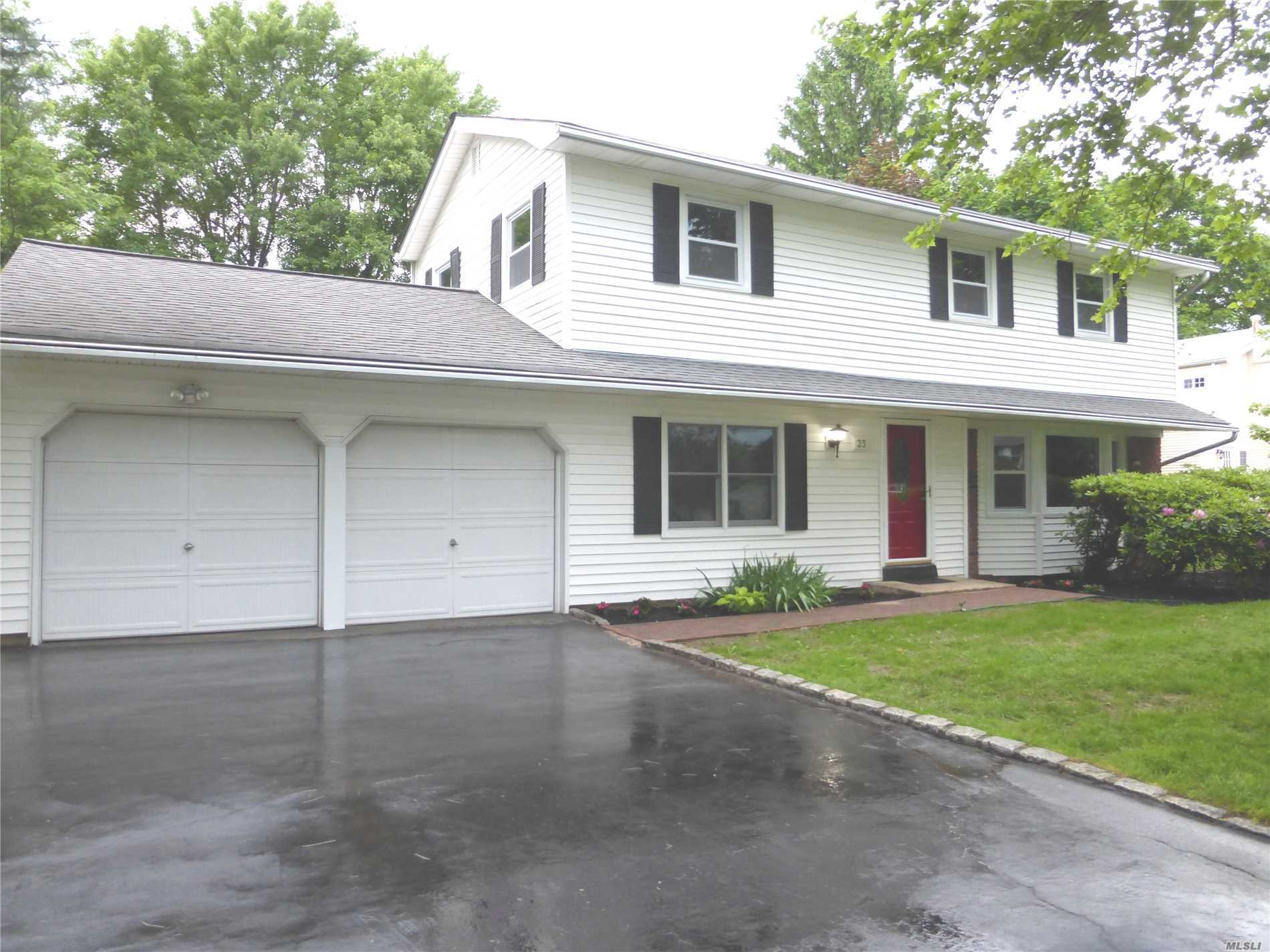 Low Tax* $9528. Completely Renovated 4 Br*3 Bth Colonial In Acclaimed Harborfield Schools*1/4 Acre. Open Flrplan. Eik W/Ss * Granite*Island. Den W/Fpl & Slider To Huge Paver Patio. New Hrdwd Flrs*Andersens*Cac*Doors*Trim*Mldng*Crown*Grand Mstr Ste W/Wic/Dressrm*Full Bth W/Dbl Sinks. Other Updates Incl Siding*Roof & Cesspool(Updated Cesspool A Major Plus Due To New Laws Mandating New $15K-$20K Septics). Full Bsmt: Recreation*Lndry*Workrm, Updated Gas Htr, Sep Hw & 200Amp Electr.