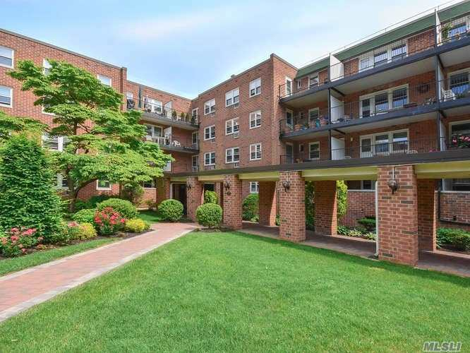 Bright 2 Bedroom, 2 Bath Unit With Large Terrace Overlooking Gardens And Pool Area. Galley Kitchen W/ Ss Appliances, Wood Floors, Over Sized Walk In Closet. Beautiful Complex W/ A Pool. Laundry Room On Each Floor. Taxes, Heat And Water Included In Maintenance. Taxes Do Not Include Star Exemption. No Smoking Inside Buildings! Absolutely No Pets Allowed!