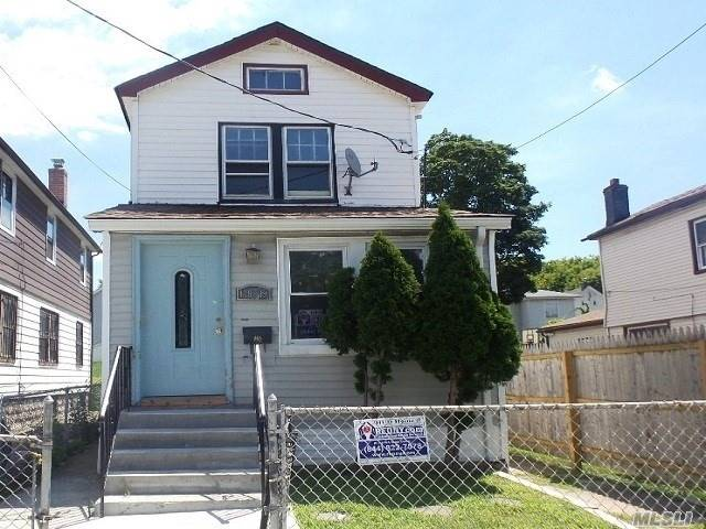 Detached Cozy One Family House With Full Basement. Plenty Of Yard Space, Private Fenced-In Rear Back Yard. Southern Exposure Detached House. Close Proximity To Rockaway Blvd. Minutes To Van Wyck Expwy. Neighborhood Amenities Include Supermarket, Places Of Worship, Public Transportation/Buses. Residential Neighborhood, Quiet Tree Lined Block. Perfect Home For Your Family. School District # 27