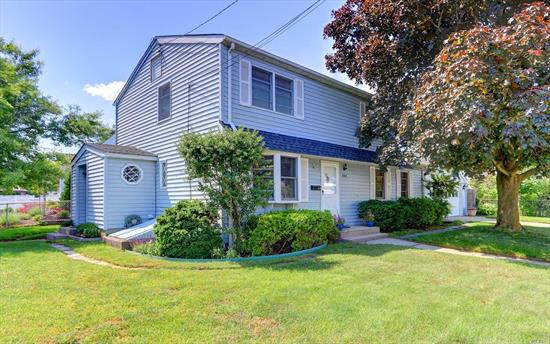 Pride Of Home Ownership. Lovely Expanded Colonial With 4 Bedrooms And 2 Full Baths. Large Entertaining Living Room With Open Layout To Sliders To Rear Deck And Backyard. Side Entrance Into Mudroom Too. Many Updates In House Newer Roof And Bath Home Beautifully Maintained.