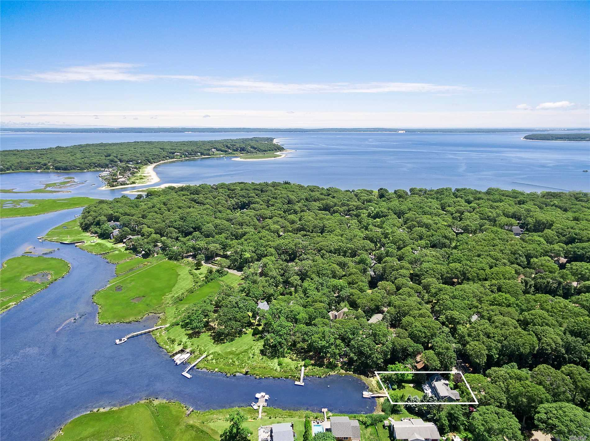 Priced Reduced On This Waterfront Home In Sought After Fleets Neck, Cutchogue With Gorgeous View Of East Creek. This Charming 2 Story Home Has 3 Bedrooms And 3 Baths, With The Master Bedroom On The 1st Floor. Skylights Over The Cathedral Living Room Bring In Beautiful Natural Light. A Den On The 1st Floor May Be Used As An Extra Bedroom If Needed. On The Second Floor Is A Loft Room/Office And 2 Additional Bedrooms. There Is A Large Deck And A Dock With Room For 2 Boats. Association Beach.