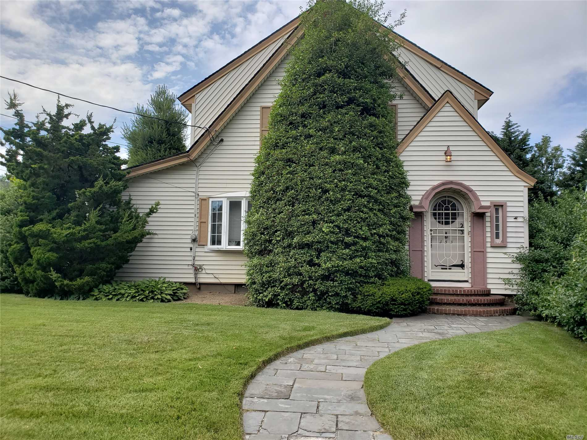 Old World Charm- Big Living Room And Dining Room- Den/Office,  4 Bedrooms, 2 Full Baths - Hardwood Floors Throughout - Full Basement - Great Street!!