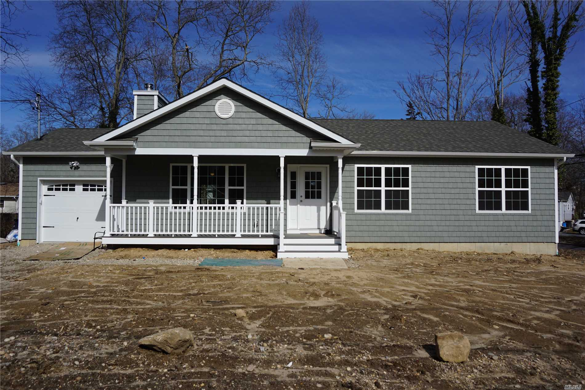 Large Lot Backing To 100 Acres Of Nys Parkland. Brand New 3-Br 2-Ba Ranch W/Full Basement & Garage. Start Your Customizing Today. Pictures Of Project To View In Riverhead. Taxes Under 8000 W/Star. Other Locations & Styles To Consider