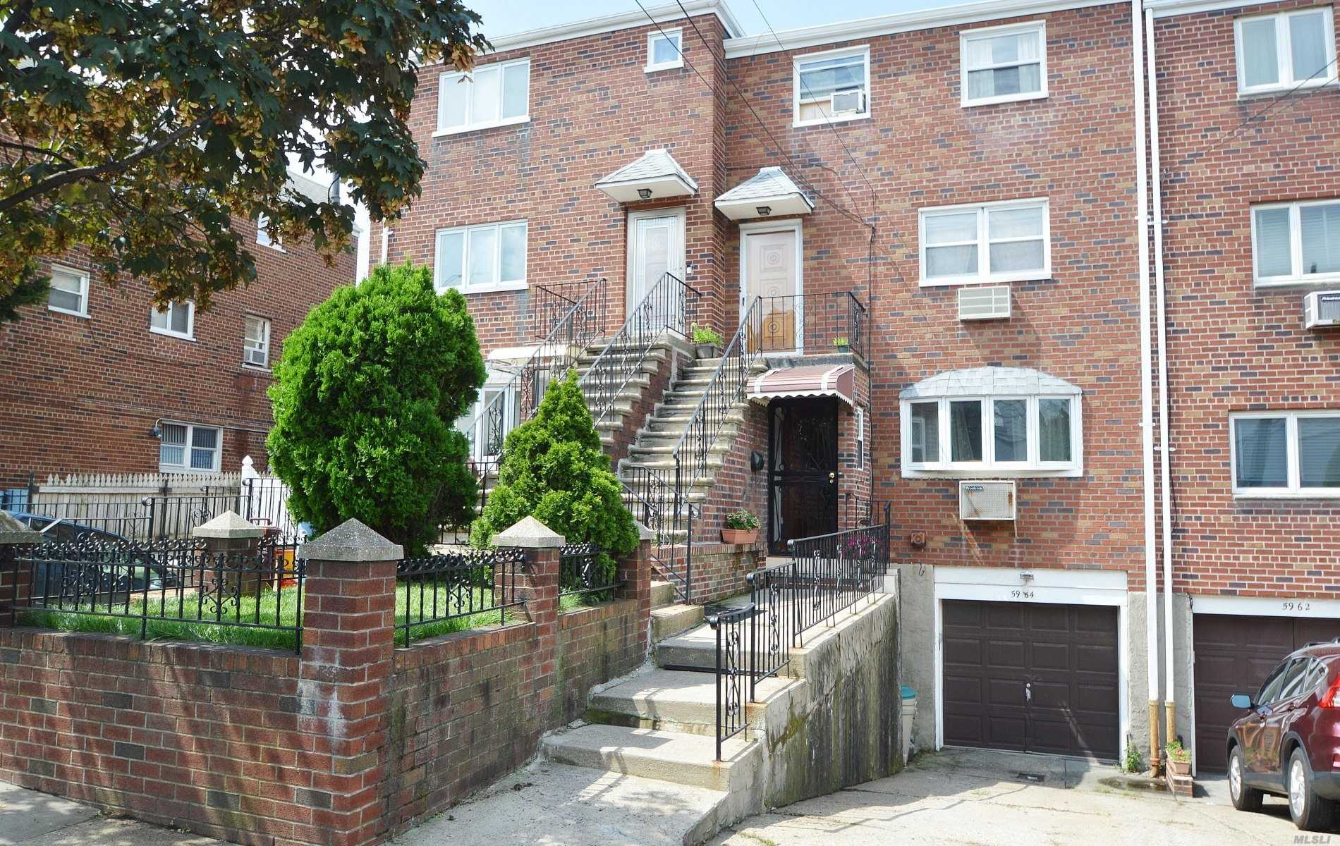 Legal Two Family Duplex! Move Right In To This Beautifully Renovated Home! 2 New Kitchens With Stainless Steel Appliances. 3 & Half Bathrooms, Fenced Backyard, View Of The Skyline From The 3rd Floor Unit. Attached Garage, Driveway Fits 2 Cars, Finished Basement With High Ceiling. Young Roof, Boiler And Electric. Book Your Appointment Today!