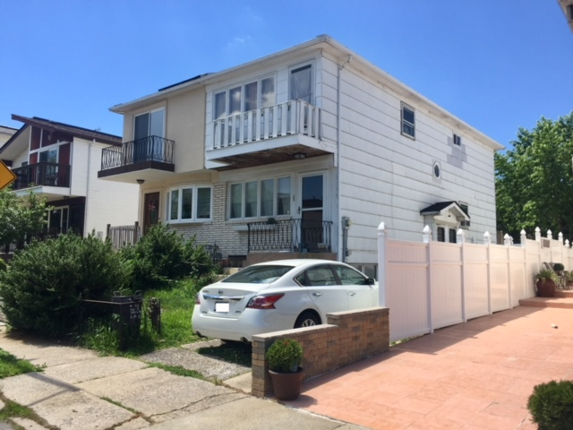 This 1 Family semi-attached home in Atlantic Village offers the lifestyle of a private community enhanced by ocean views & private park. 1 Family semi w/3 bedrooms, 2 baths, wood floors throughout, living rm, Eik, dr w/sgd to small deck & yard. Partially finished basement w/full bath.