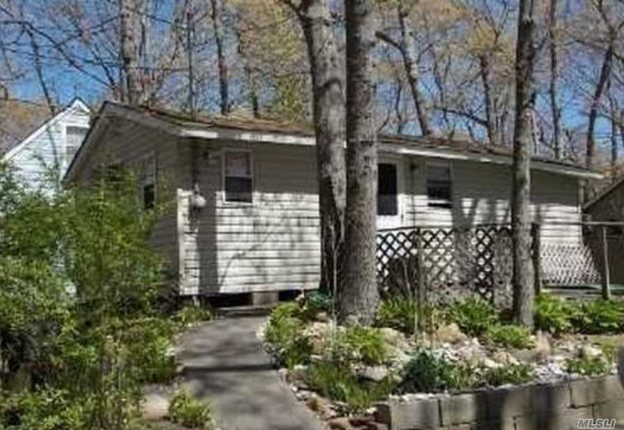 Sweet Summer Getaway! Wonderful 2-Bedroom Cottage With Patio, Shed, Ac Units & Updated Windows! Being Sold Furnished! Yearly Fee Of $4, 000 Includes Water, Garbage & Private Beach! Cottage Has Antenna For Free Tv!