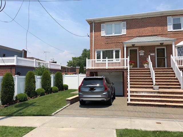 Fully Renovated Semi-Attached Brick Colonial In Whitestone! Features 3 Bedrooms, 1.5 Baths, Eik W/ Ss Appliances, Fdr, Full Finished Basement With Separate Entrance, Private Driveway And Garage. Property Has New Roof, Sprinkler System And Is Beautifully Landscaped. Close To Public Transportation & Shopping. A Must See!!!