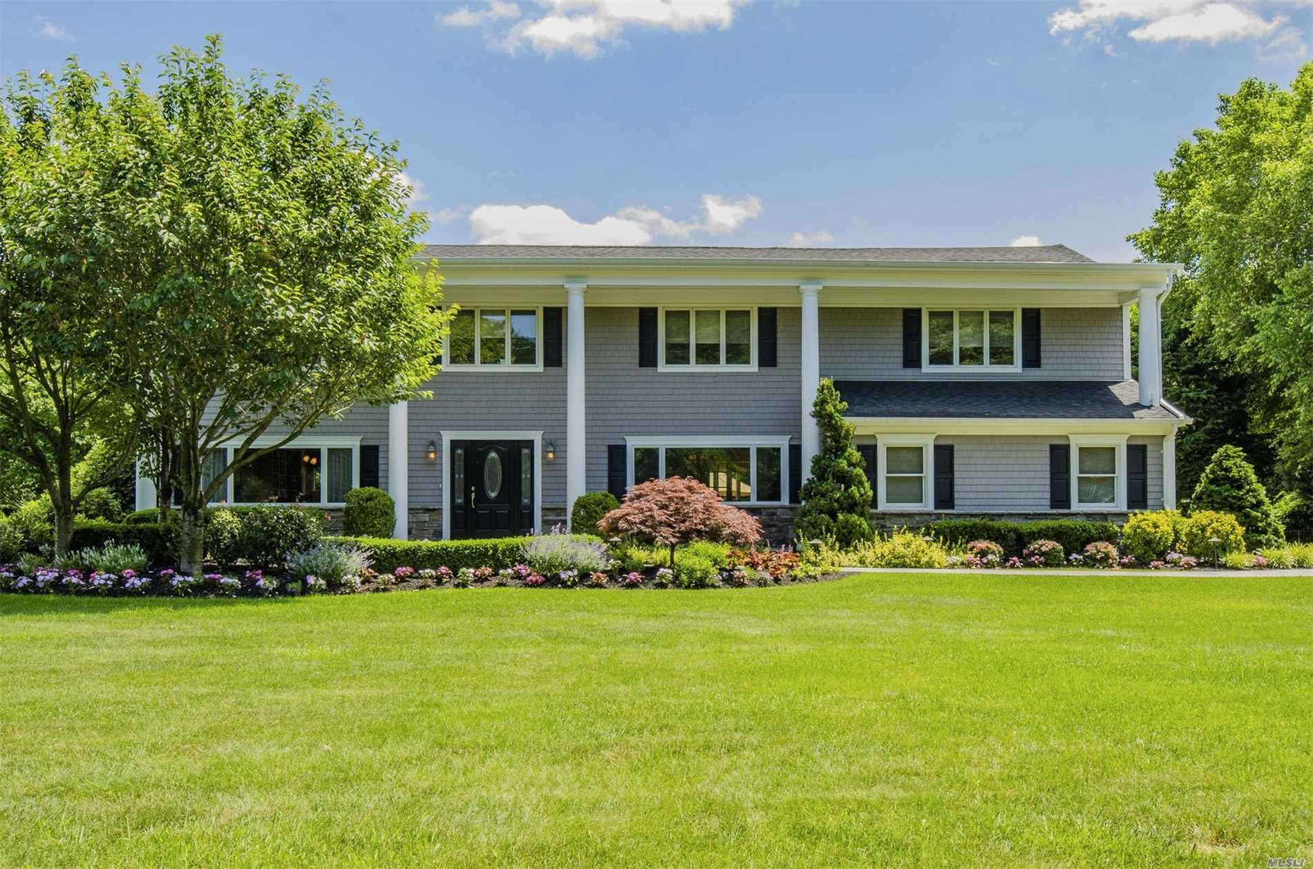 Magnificent 5 Bdrm 2.5 Bth Colonial In Northport Bay Estates. This Home Presents Itself With A Stately Curb Appeal As You Approach, Intricate Mouldings And Hardwood Floors Throughout Which Only Enhance The Ambiance Of This Home. Radiant Heat In Master & Family Baths. An Open Floor Plan With Numerous Upgrades And Craftsmanship Throughout Make It Move In Ready . The Wonderful Outdoor Living Space Is The Perfect Venue For Entertaining And Relaxing. Private Beach Rights !!