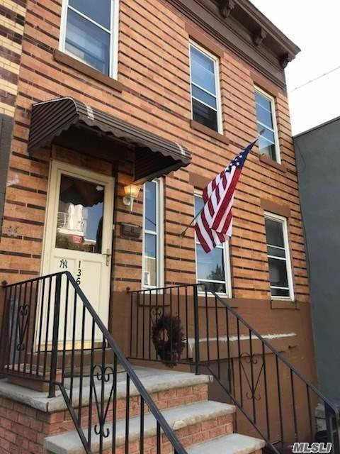 Location Location Location!!! 2 Family Mixed Use Commercial Property With Great Potential For Development Or Family To Put Down Roots.Close To All: Public Transportation, Shopping, Schools, Night Life, 1 Block From Mccarren Park, Etc.