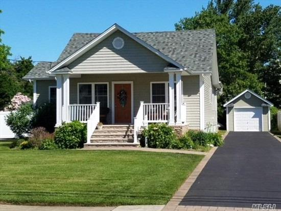 Charming Cape 2/3 Br W/Open Space Floor Plan. Radiant Heat In Bathroom. Central Vac, Igs, Central Alarm, Heated Floors. This Home Was Totally Renovated In 2012, Well Cared For Since. Move In Ready In Desirable Neighborhood. Low Taxes!