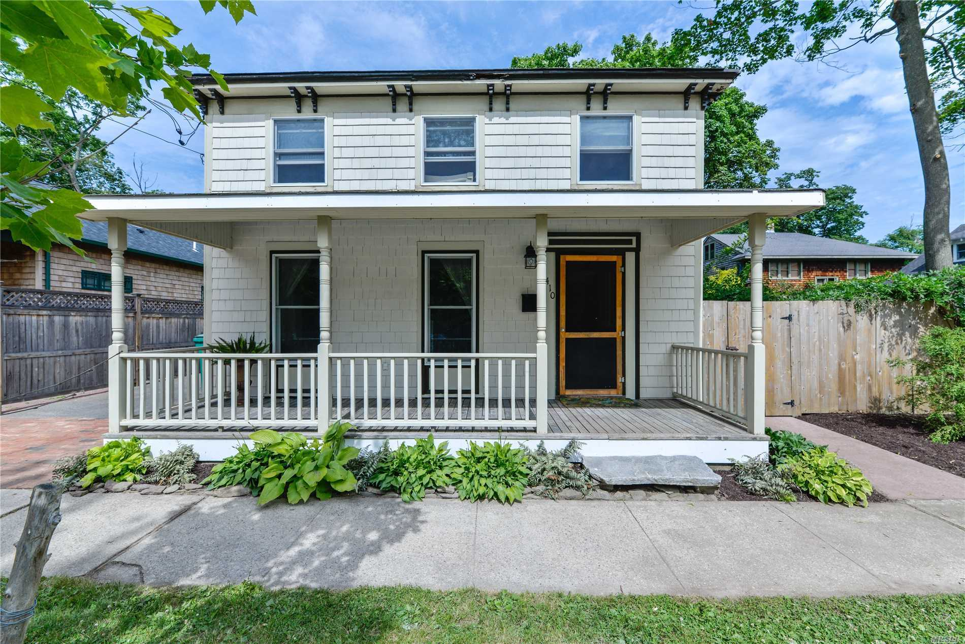 Classic Greenport Village Charmer With Great Light, Period Details, Nicely Proportioned Rooms And Close To All Shops, Restaurants, Village Marina And More. Detached 1 Car Garage Would Make Excellent Art Studio Or Shelter For Your Wheels. Village Living Awaits.