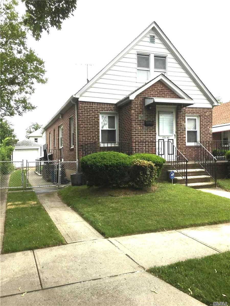 Owner Is Very Motivated !!!!!!! Location!!!! Location!!! This House Is Full Of Charm It Sits On A Lot 40 X100. The Garage Is Detached And There Is Plenty Of Greenery. This Is Convenient To Transportation. Great Schools This Is One Of The Most Desired Neighborhoods In Queens.