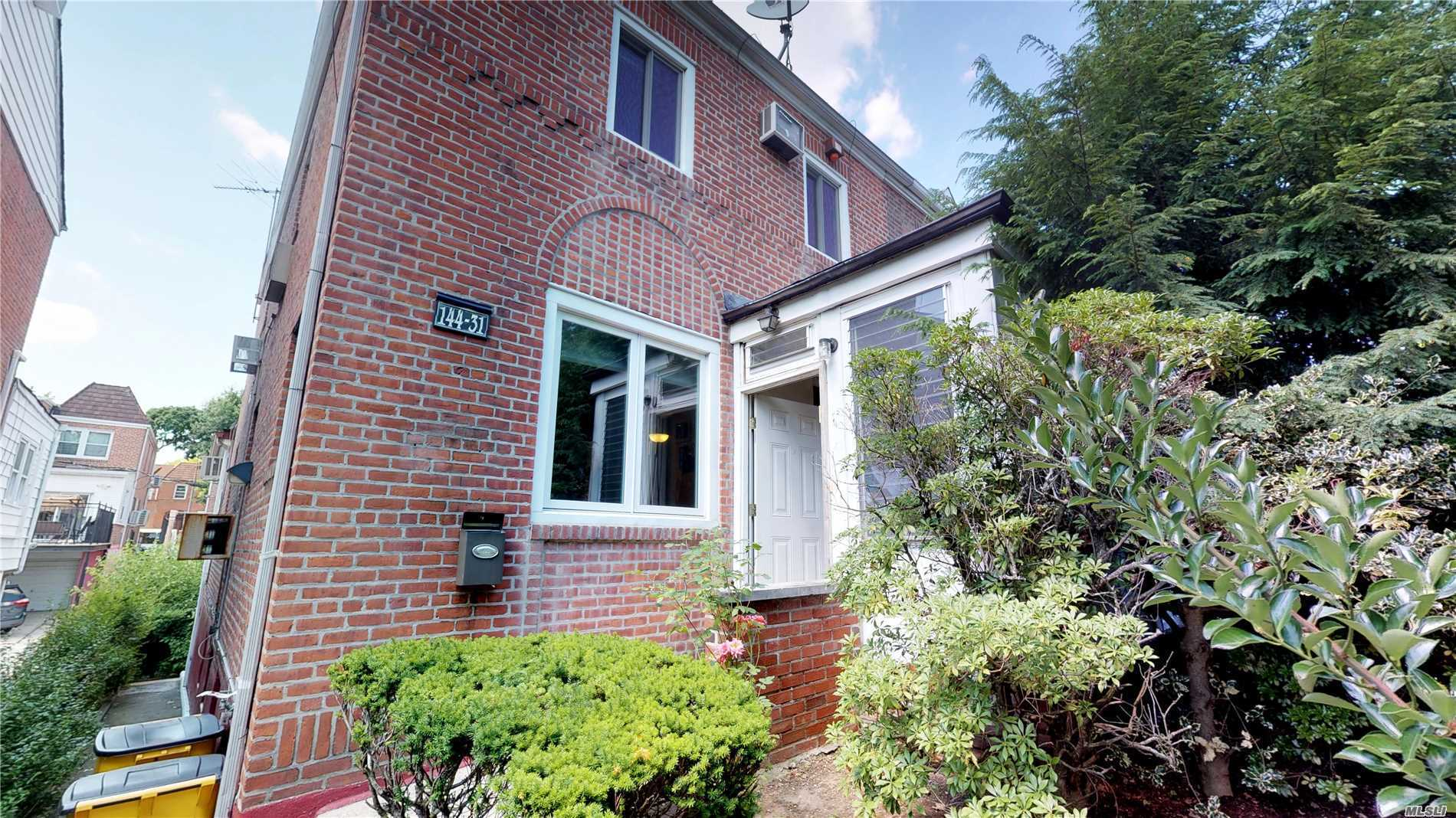 Price Slashed. Deep Discount. Sweet Opportunity For Completely Renovated 3Br-2.5Ba Expanded Colonial Gem In The Heart Of Kew Garden Hills, Large Deck, Finished Walk-In Mother-Daughter Basement, & Finished Attic. 2180 Sqft On 25X100 Lot & Deep 20X38 Structure. Excellent Location! Entirely Move-In Ready. Gorgeous Interior, Conv 4th Br, Fine Neighborhood, Near Shops, Trains, Buses