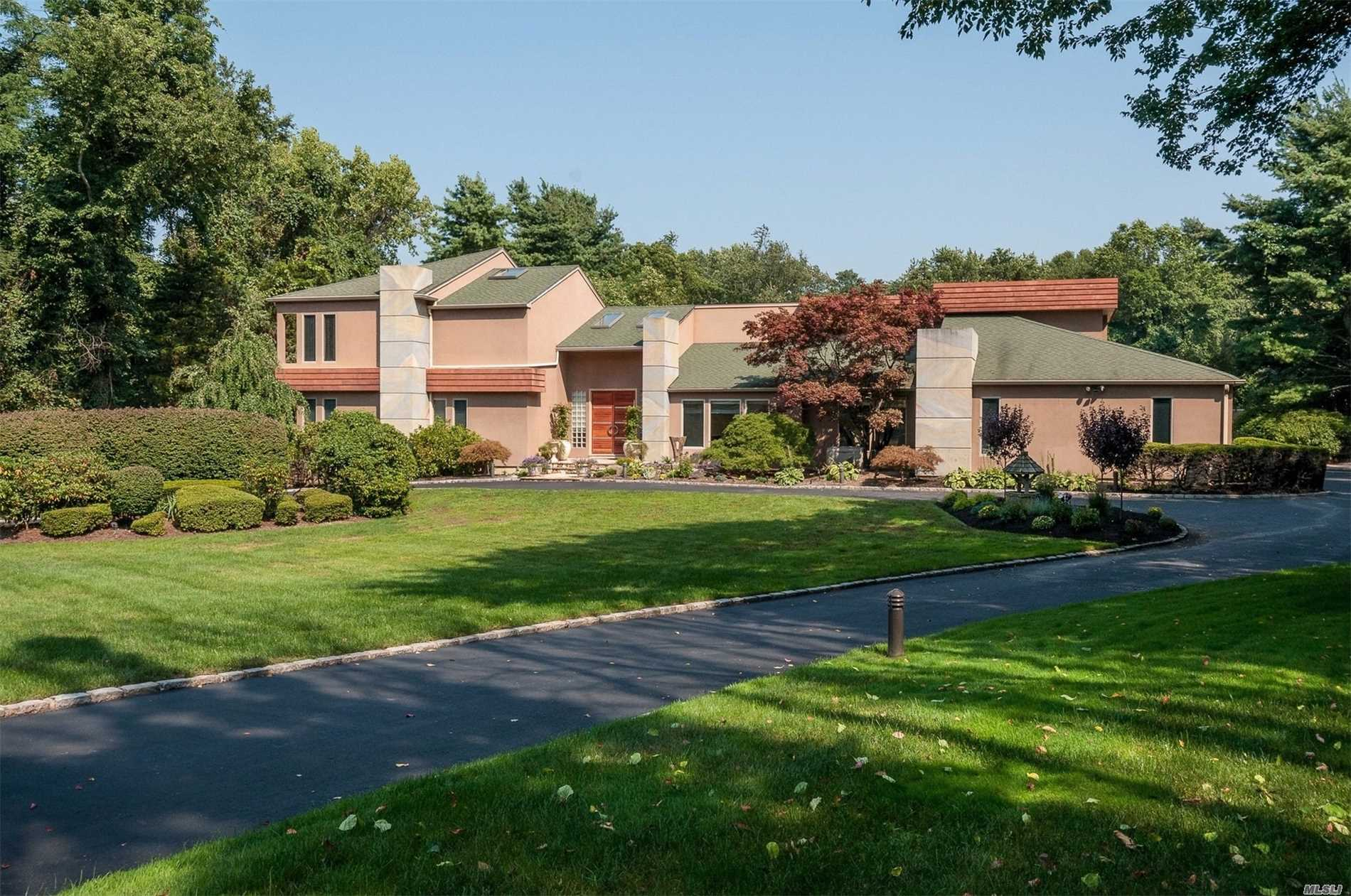 One Of A Kind Approximate 7000 Sq.Ft. Bsmt 2849 Sq.Ft. 2 Acre Property, Putting Green, Lit Beach Volleyball, 5000 Square Foot Lit Sport Court, Full Cabana With Bath, Back Up House Generator, 2000 Square Foot Ironwood Deck, Half Court All Weather Basketball Court. Radiant Heat In Kitchen And Baths, Indoor/Outdoor Sound System, New Spectacular Home Theater. See Attached List Of Home Features.