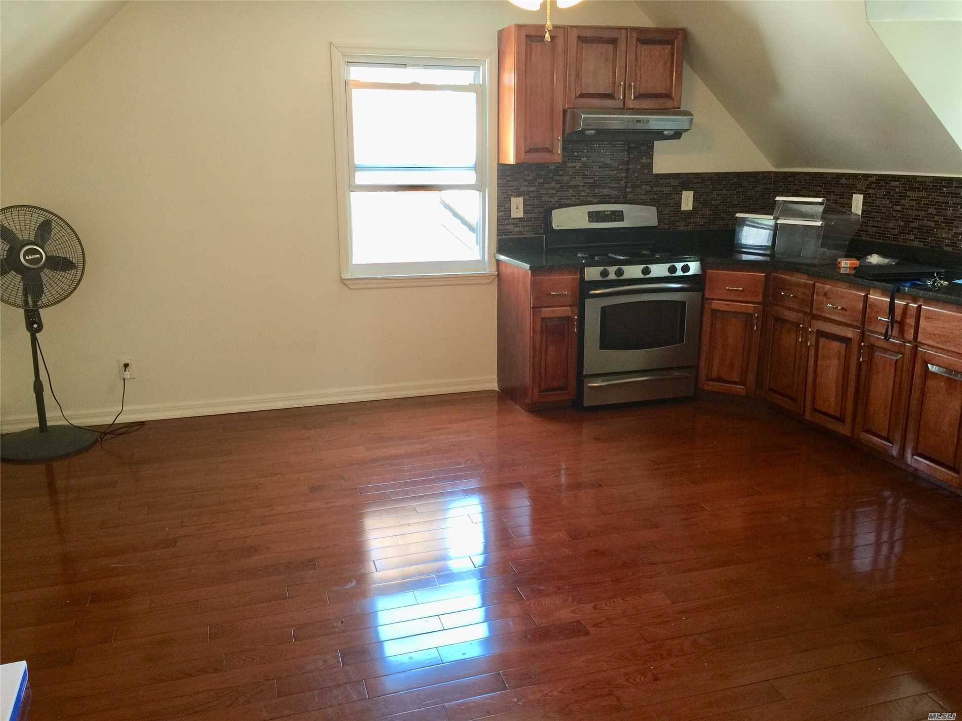 Location Location Location Mint Two Bedrooms Apt With Stainless Steel Appliances Granite Counter Tops And Hard Wood Floors 3 Blocks From The A Train Minutes From Airport. This Wont Last Hurry.