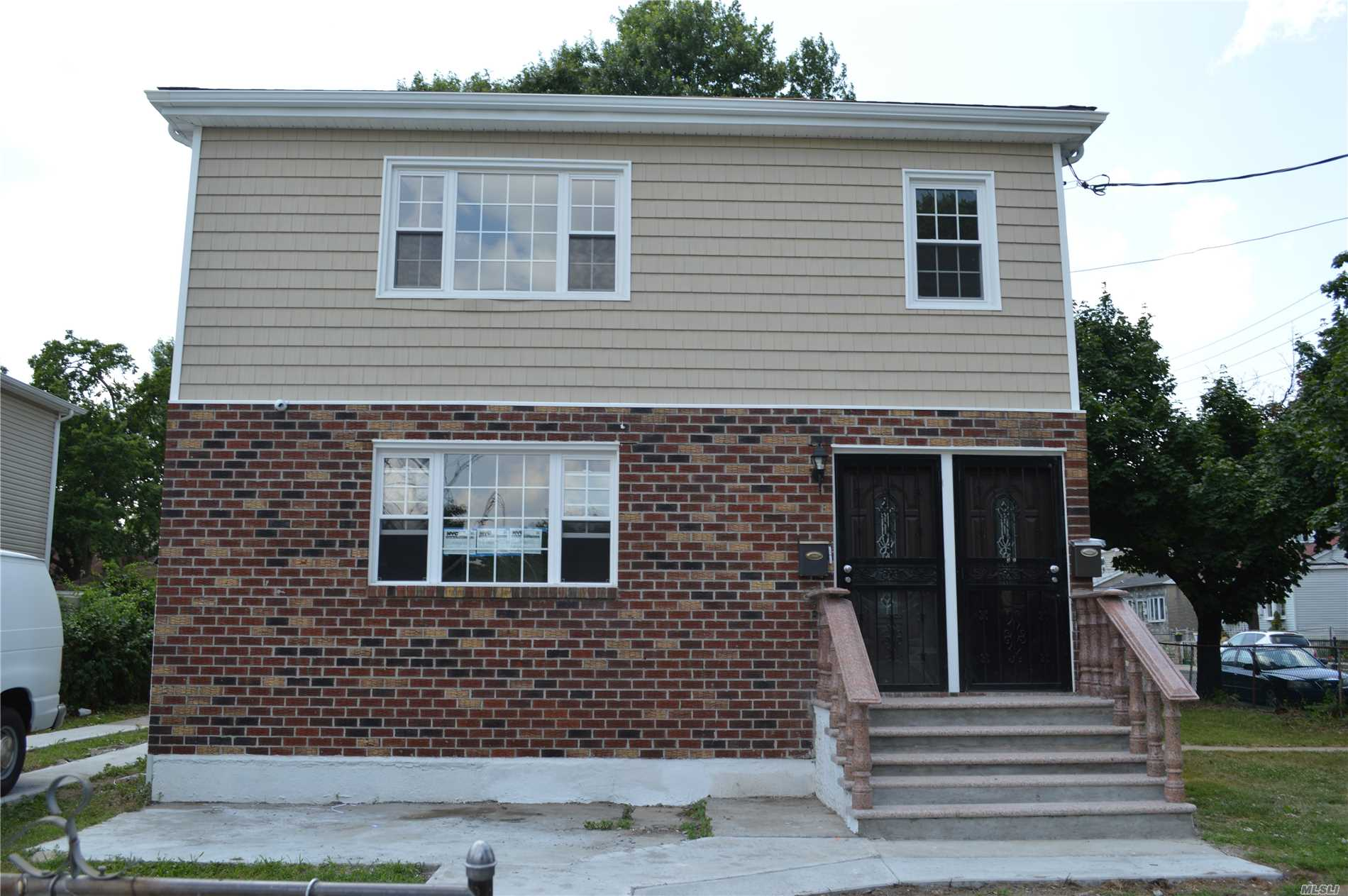 2 Family Colonial Fully Renovated . 6 Bedroom 2 New Kitchens With Stainless Steel Appliances . 1 Full Bath In Each Master Bedroom. Walk In Closet On The Second Floor Master Bedroom. New Wood Floor. Long Extended Driveway For Plenty Of Parking. Separate Entrance To The Basement.