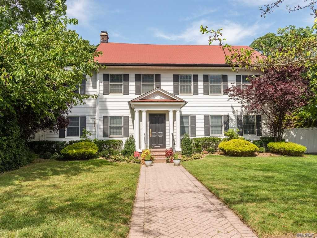 One Of A Kind Georgian Colonial On Tree Lined Street, Gourmet Eik With New S.S. High End Appliances , Banquet Formal Dinning Room, 7 Bdrms 4.5 Bths, Beautiful Main Level Den All Overlooking Magnificent 180 Deep Manicured Property With Inground Pool And Cabana