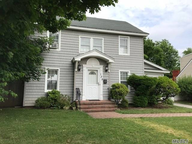 Centrally Located Colonial Style Home Located In The West Village Section Of Westbury, Being Sold Occupied. A Great Investment Opportunity For The Right Buyer!