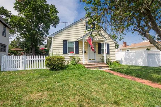 This Charming Ranch Is Waiting For You To Come & Make Your Mark ! Featuring A Large Living Room W/Hardwood Floors, Eat In Kitchen, 2 Bedrooms & 1 Full Bath, The 2nd Floor Walk Up Attic Gives You Room For An Additional 3rd Bedroom Or Office ! Join The Association For Access To Private Beach, Parks & Docking !