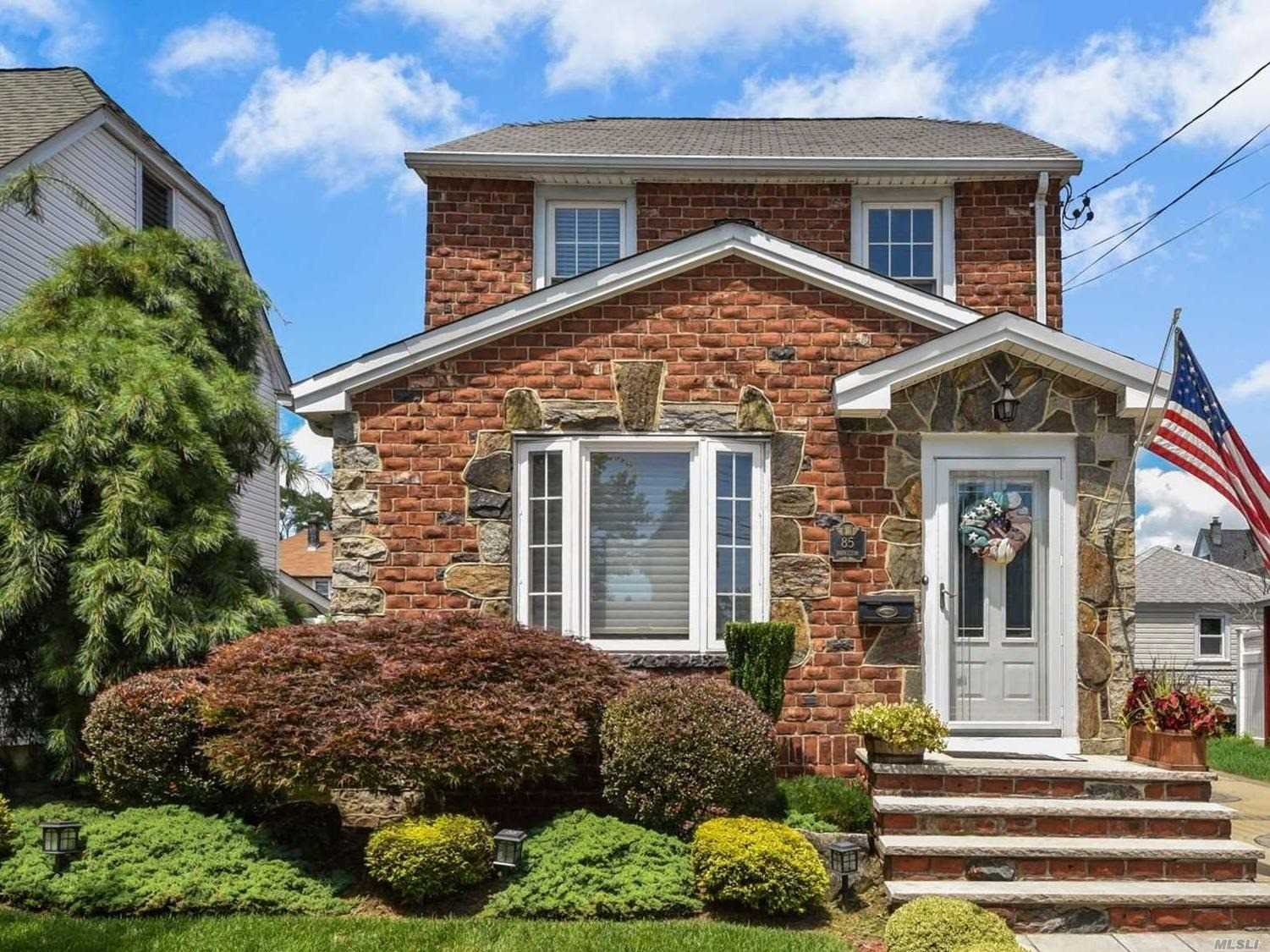 Superb Brick Chatlos Colonial, Every Amenity! Two Gas Fireplaces, Mr. Steam Shower, Professional Closets, Gazebo With Fan, Special Lighting, And 200 Amp Electrical Service. Don't Miss This Opportunity To Live In One Of The Largest Homes In Williston Park! Extra Large Full Basement! Convenient To Village Pool, Transportation And Houses Of Worship